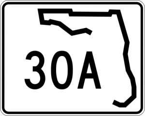 Florida 30A Map